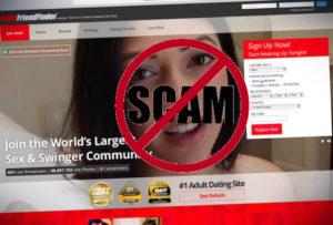 adult friend finder scam